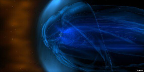 Nasa Wind Spacecraft Pictures Earth's Shockwave As It Hurtles Through Space