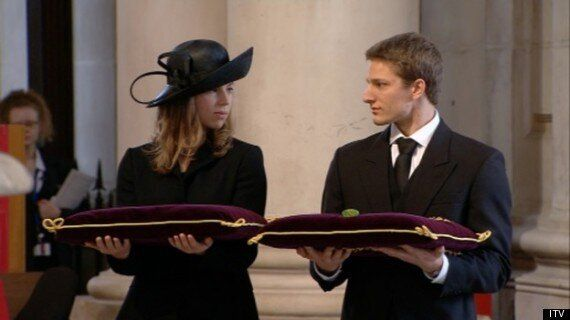 Amanda Thatcher Praised For Composed First Reading At Thatcher Funeral