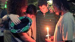 PHOTOS: Vigils Held For Texas Explosion