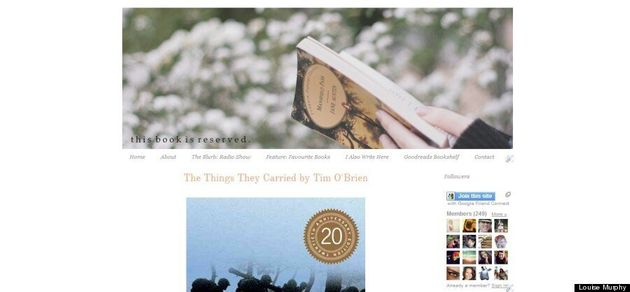 Student Blog Of The Week: Louise Murphy And Her 'This Book Is Reserved'