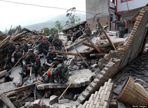 China Earthquake: Dozens Killed, Hundreds Hurt In Rural Earthquake (PICTURES,