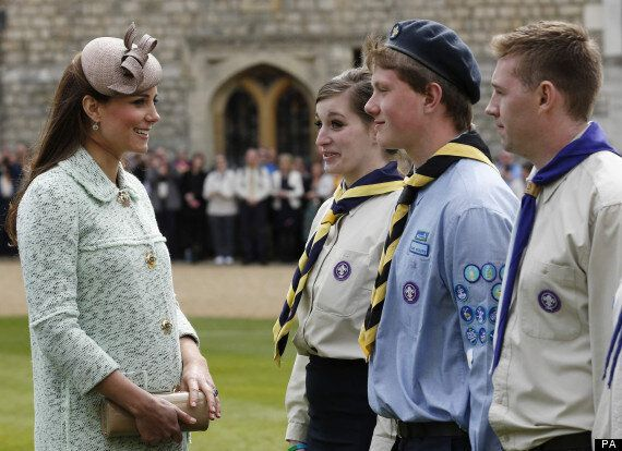Kate Middleton Pregnant: Duchess Of Cambridge Honours Scouts At Windsor Castle