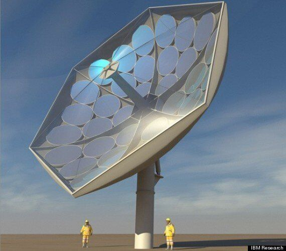 IBM's New Solar Collector Power System (HCPVT) Could Power The