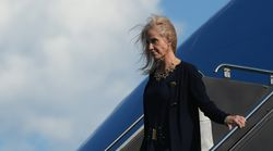 From Air Force One High Over The Atlantic, Kellyanne Conway Tweeted Attacks On Joe