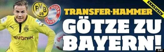 Mario Götze To Join Bayern Munich In €37m
