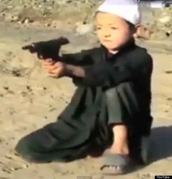 Children As Young As Five Filmed Firing AK47 Assault Rifles At Al Qaeda Terror Camp