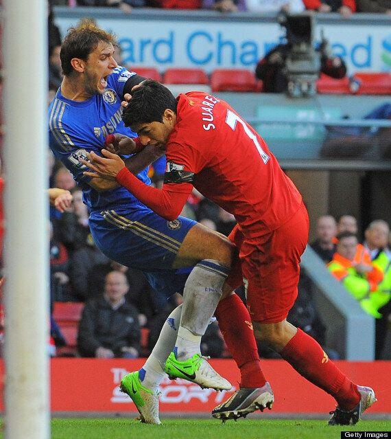 Luis Suárez Banned For 10 Games For Biting Branislav