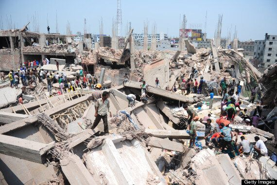 Bangladesh Building Collapse Leaves 70 Feared Dead In Dhaka (VIDEO)