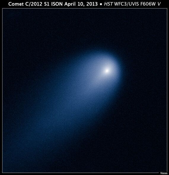 Comet ISON Photographed By Hubble Space Telescope
