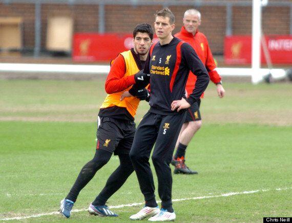 Luis Suárez Trains With Liverpool Ahead Of FA Announcement On Bitegate