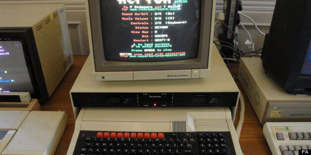 BBC Micro made by Acorn at the computer lab at the University of