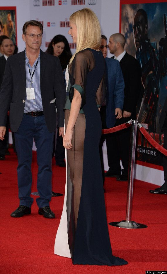 Gwyneth Paltrow Goes Pantless At 'Iron Man 3' Premiere After Being Named 'Most Beautiful Woman'