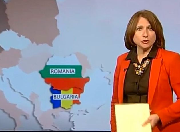 Romanian And Bulgarians Peeved As BBC Mixes Flags Up In Immigration
