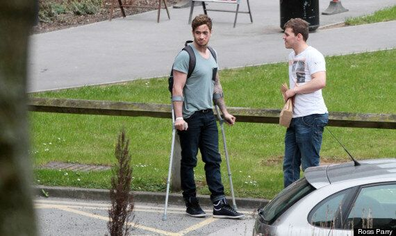 Danny Cipriani Accident: Kelly Brook's Boyfriend Leaves Hospital After Being Hit By A Double-Decker Bus