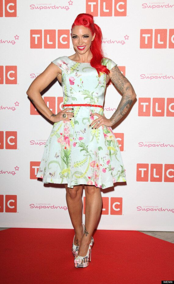 Jodie Marsh Swaps Flashing For Florals With New Girly Girl Look On London Night Out