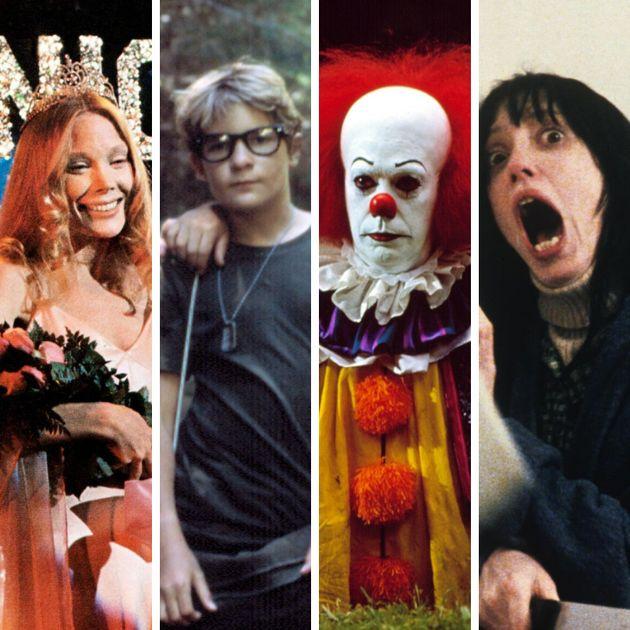 Carrie, A Estanha, Conta Comigo, It, A Coisa e O Iluminado são alguns dos filmes exibidos na