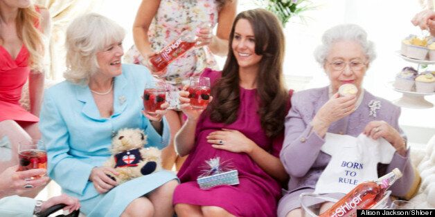 Kate Middleton's Royal Baby Shower - As Imagined By Alison Jackson