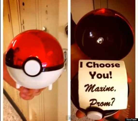 Pokemon Prom Date Proposal Goes Viral On YouTube