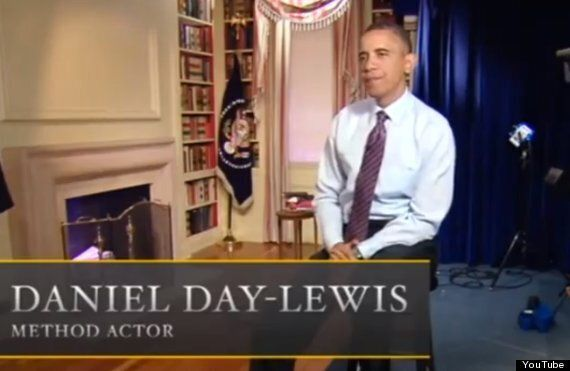 WATCH: President Barack Obama Gives Daniel Day-Lewis An Early Birthday Present With White House Spoof