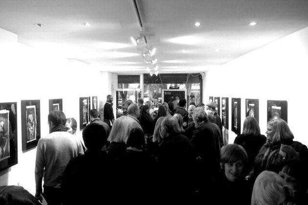 Private View Launch Party for New kennardphillipps Exhibition 'Blue
