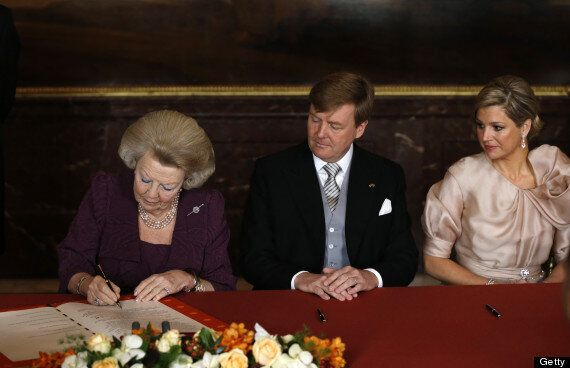 Dutch Queen Beatrix Abdicates To Make Way For 'Youngster' Prince