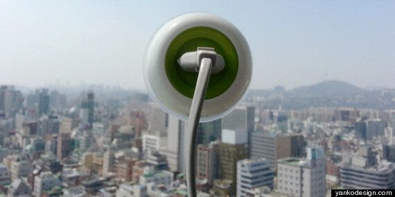 'Window Socket': Solar-Powered Plug Sticks To Window, Powers Anything