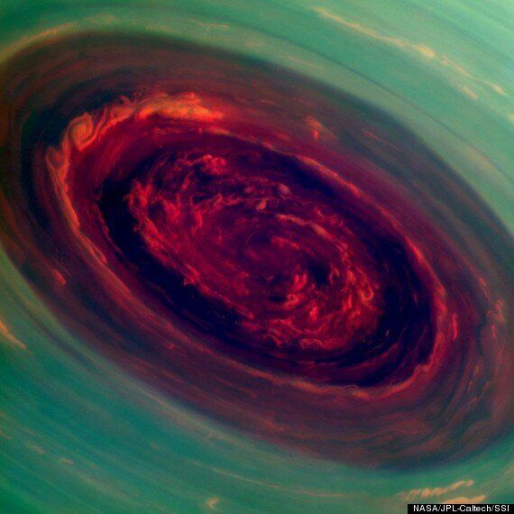 Saturn Hurricane Photographed By Nasa Cassini Spacecraft 'Bigger Than Australia'