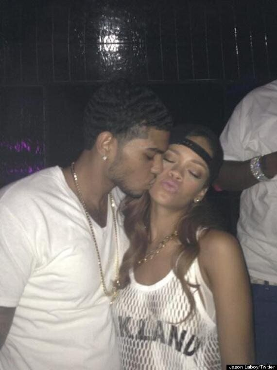 Chris Brown Unfollows Rihanna On Twitter - Are These Pictures Of Her Kissing A Mystery Man To