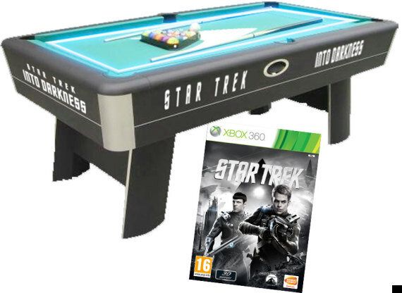 COMPETITION: Win A Star Trek LED Pool Table To Celebrate The Release Of 'Star Trek Into