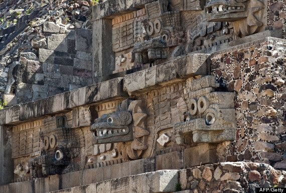 Mystery Of Hundreds Of Yellow Orbs Found In Mexico's Temple Of The Feathered