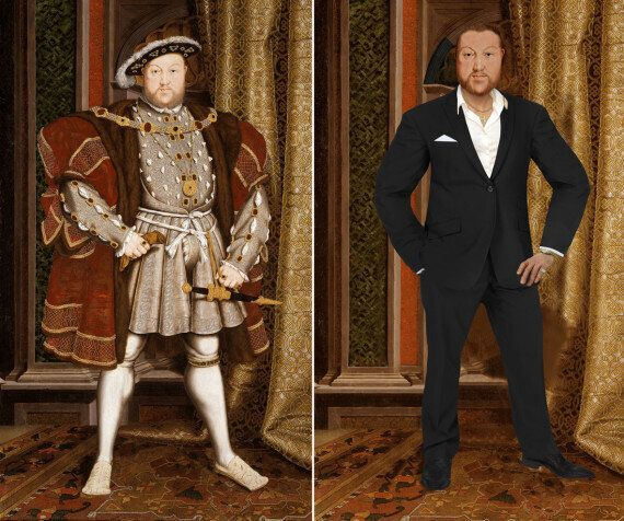 Meet Elizabeth I, Queen Of Fashion, And Henry VIII, The Ladykiller - Modern Day Historical Figures