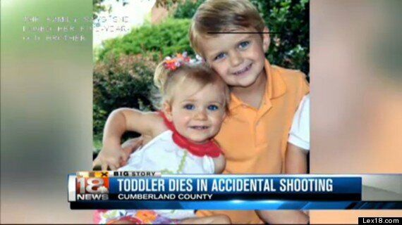 Caroline Sparks Dead, Girl, 2, Pictured With Brother, 5, Who Shot Her With 'My First Rifle'