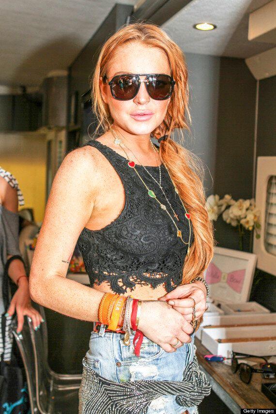 Lindsay Lohan 'Flees Rehab Minutes After Being