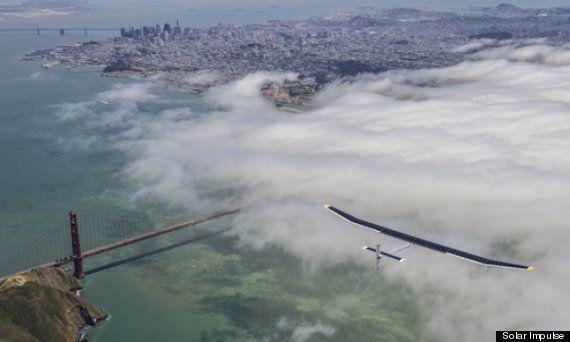Solar Impulse 'Zero Fuel' Plane Begins Journey Across