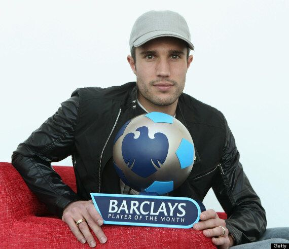 Robin Van Persie Named Barclays Premier League Player Of The Month