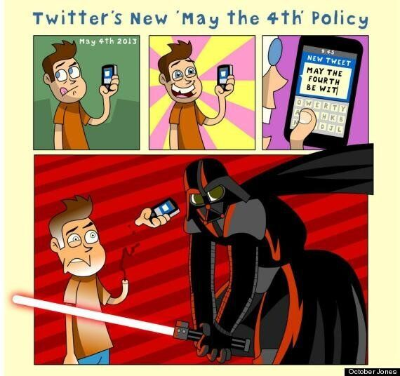 May The Fourth: Twitter's New Policy For Star Wars Day