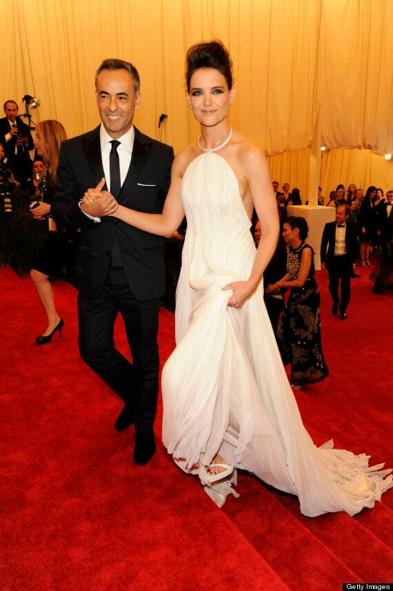 Met Ball 2013: Katie Holmes Swaps Tom Cruise For Even Shorter Man On Red Carpet
