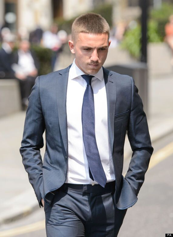 Brendan Rodgers' Son Anton Arrive At Old Bailey