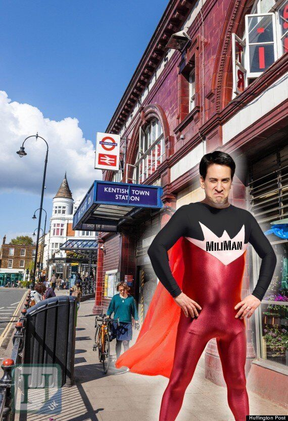 Ed Miliband 'Action Hero' After Helping Toppled Cyclist In
