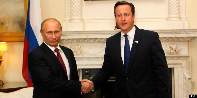 Syria: David Cameron To Meet Vladimir Putin To Discuss