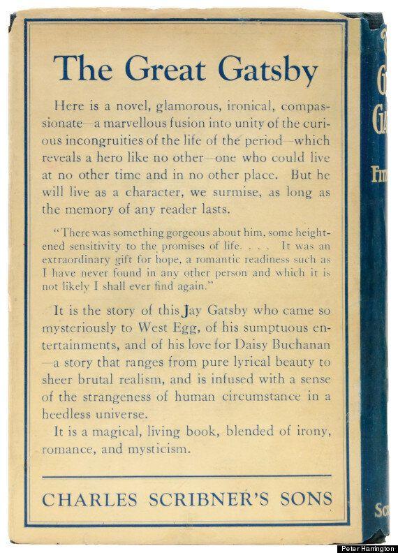 F. Scott Fitzgerald's 'The Great Gatsby': First Edition Dust Jacket Worth £100,000