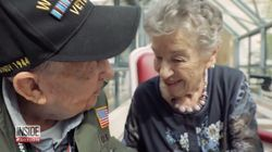 World War II Veteran Reunites With French Woman He Loved 75 Years