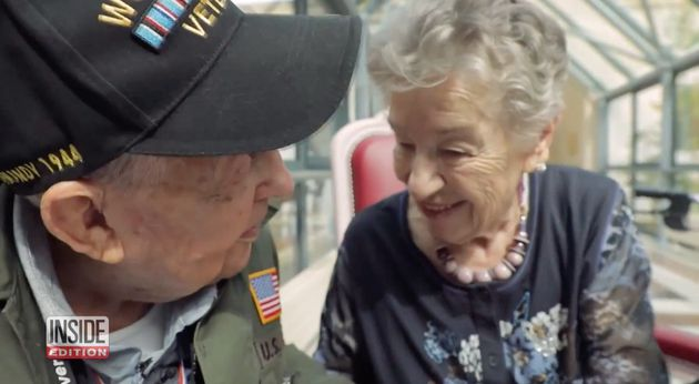2차대전 참전 용사가 75년 전 사랑했던 프랑스 여성과