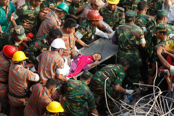 Dhaka Building Collapse: 'Smiling' Woman Survivor Found In Bangladesh Factory Rubble