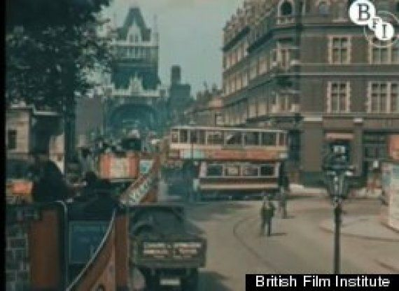 London In 1927: Claude Friese-Greene's Pre-War Colour Tinted Film Of Britain's Capital