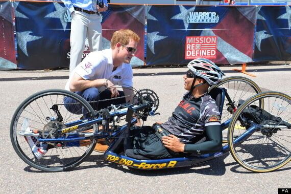 Prince Harry Starts American Warrior Games For Wounded Veterans