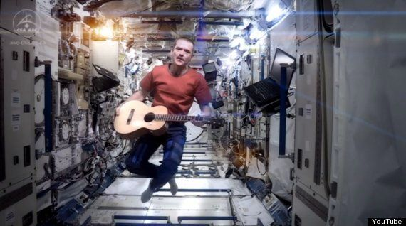 Astronaut Chris Hadfield Sings David Bowie's 'Space Oddity' Aboard The ISS