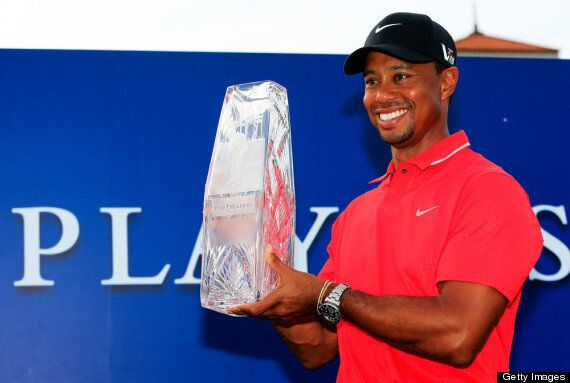 Tiger Woods Beats Sergio Garcia In Players Championship