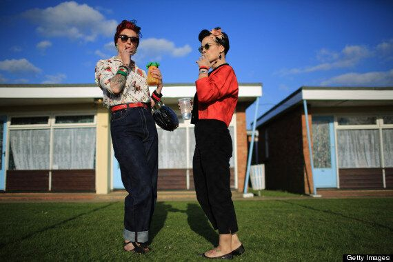 Hemsby Rock N' Roll Weekender 2013 In Norfolk
