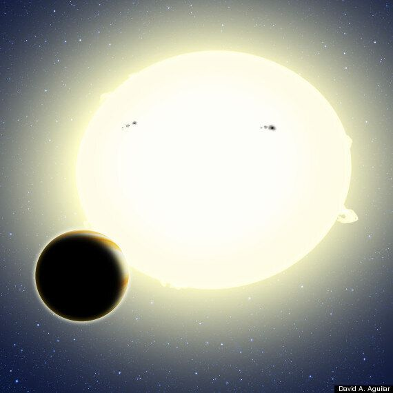 'Einstein's Planet' Discovered Using Special Theory Of